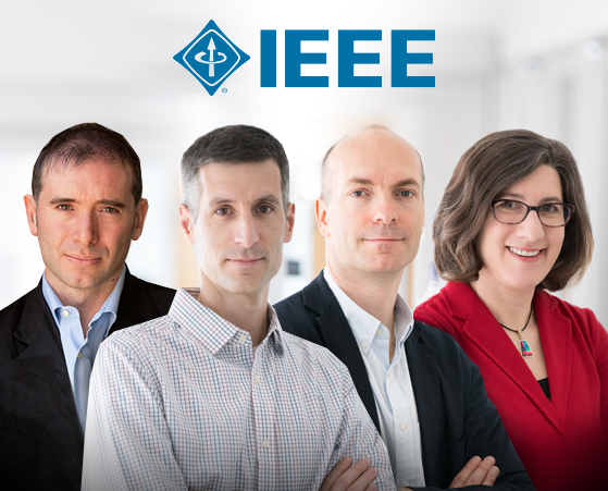From left to right: Alessandro Acquisti, Lujo Bauer, Nicolas Christin, and Lorrie Cranor all received IEEE Awards earlier this month.