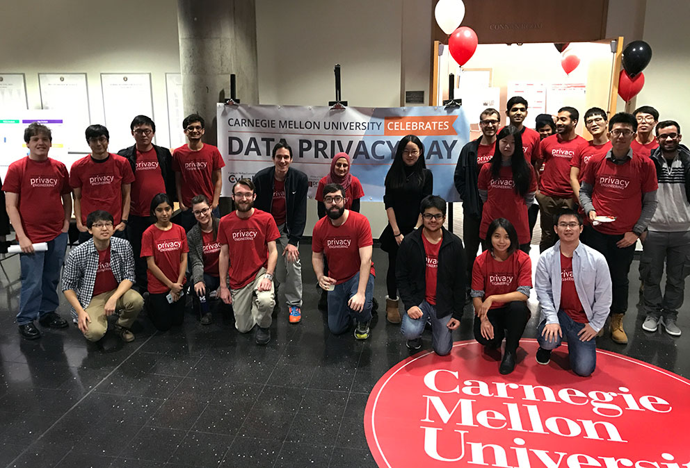 CMU Privacy Engineering students celebrate Data Privacy Day in 2017
